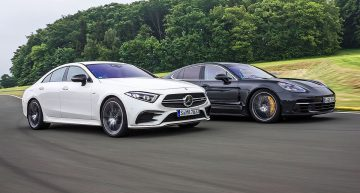 Emotional 4-door Coupes: Mercedes-AMG CLS 53 versus Porsche Panamera 4S