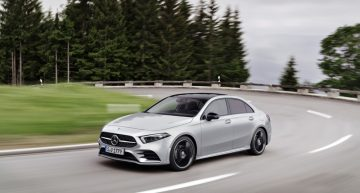 OFFICIAL – The new A-Class Sedan is the newborn of the compact family