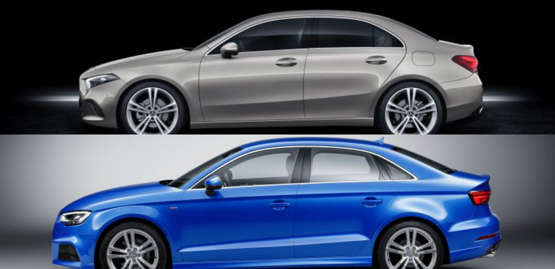 Mercedes A-Class Sedan vs Audi A3 Sedan