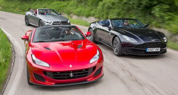 Mercedes-AMG SL 63 vs. Ferrari Portofino, Aston Martin DB11: GT convertibles at the highest level