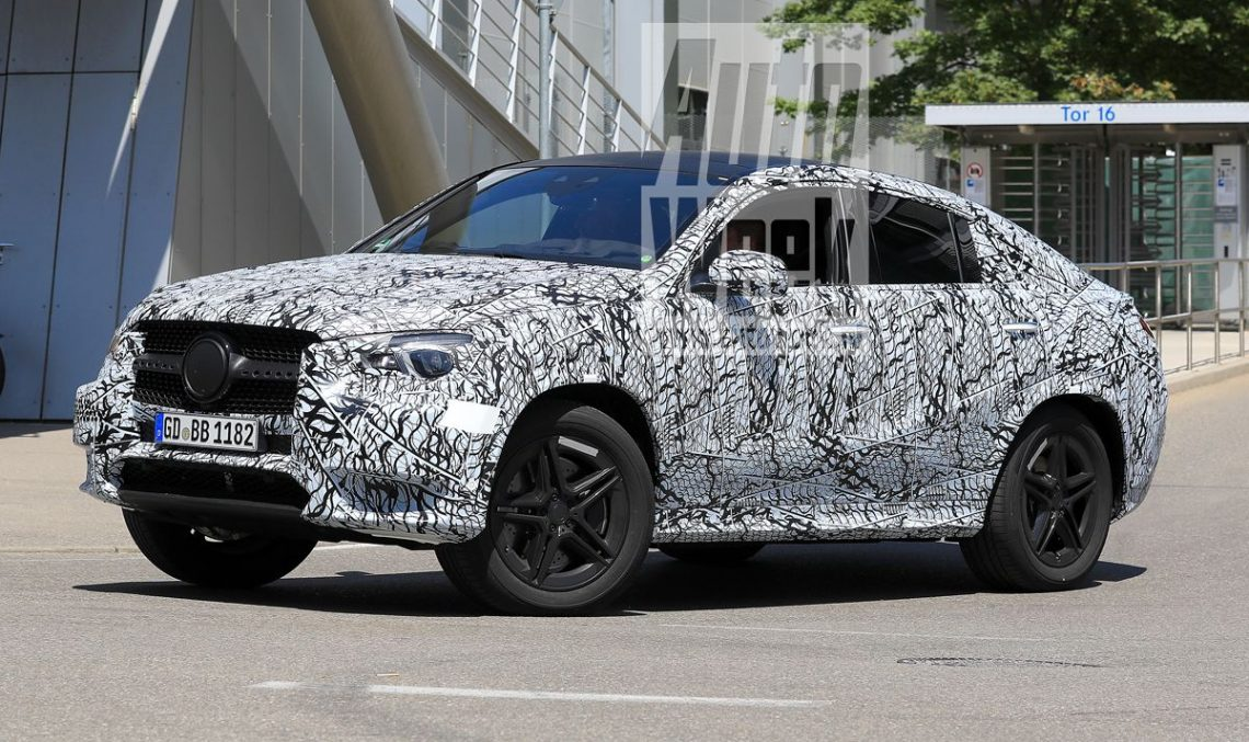 All-new Mercedes-Benz GLE Coupe shows itself for the first time
