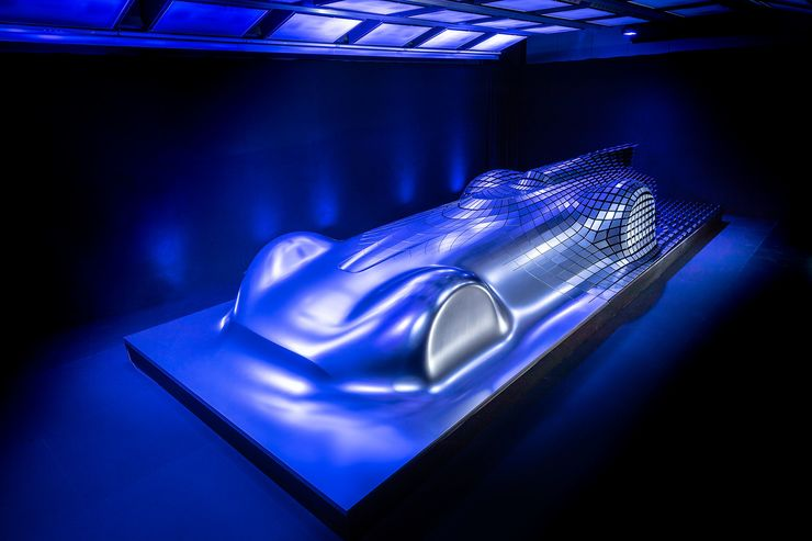 MERCEDES VISION EQ SILVER ARROW (2023): First view of new supercar at 2018 Pebble Beach