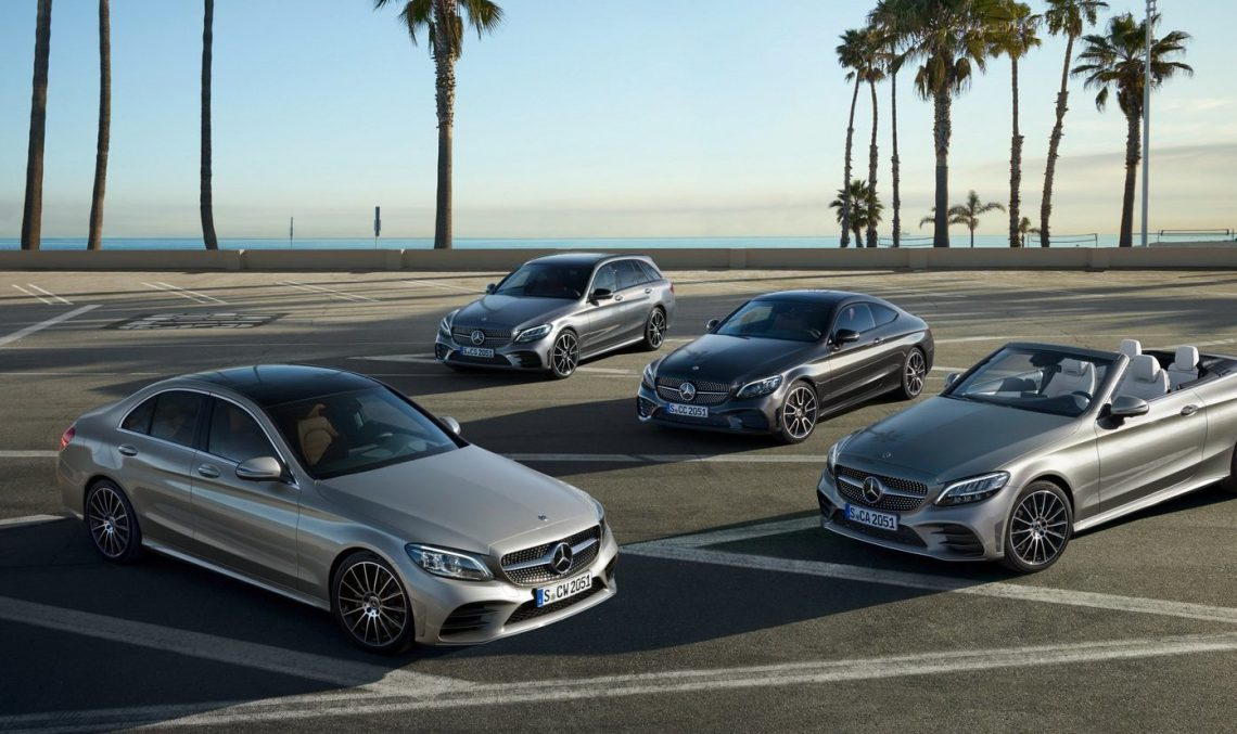 And so the family grows – The Mercedes-Benz C180 d is the new entry-level