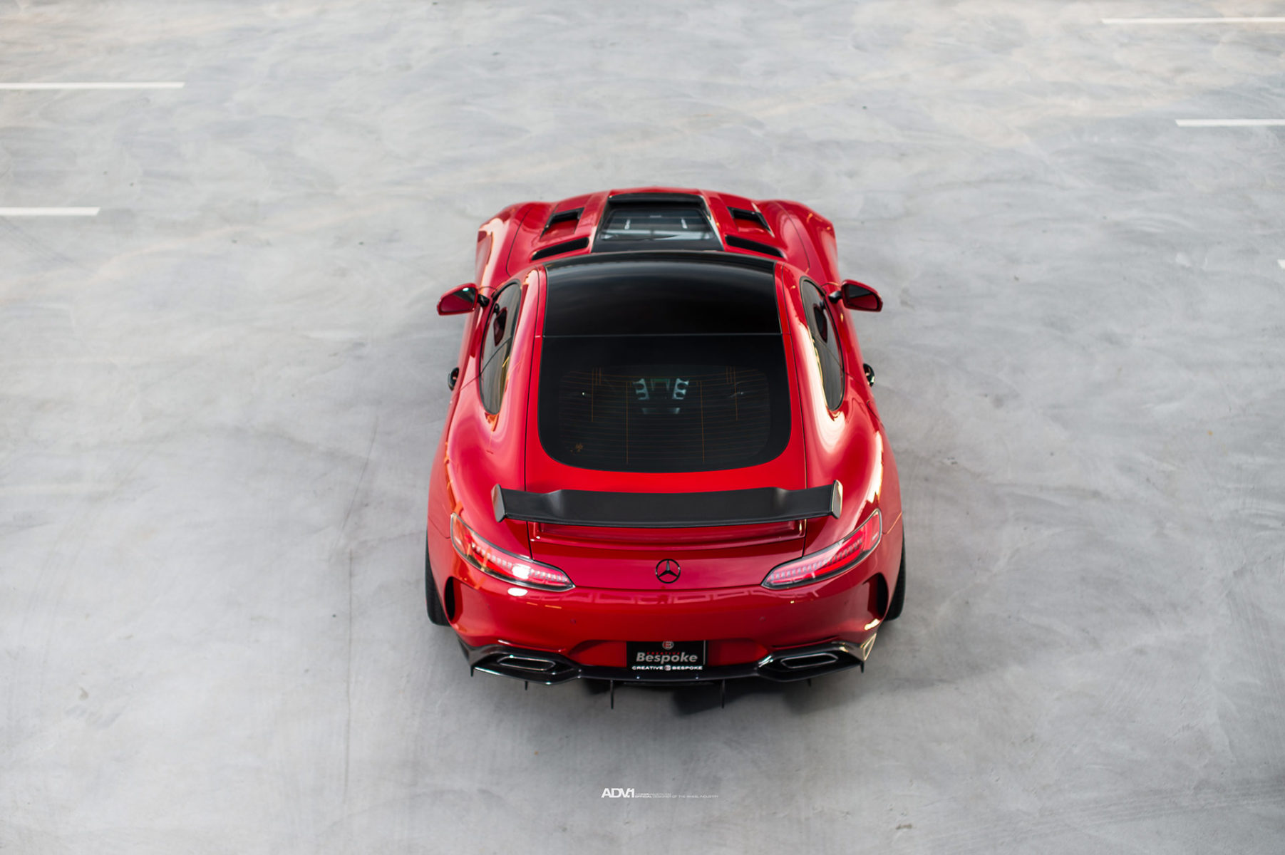 Mercedes Amg Gt S Is Red With Tuning Fury And Glory