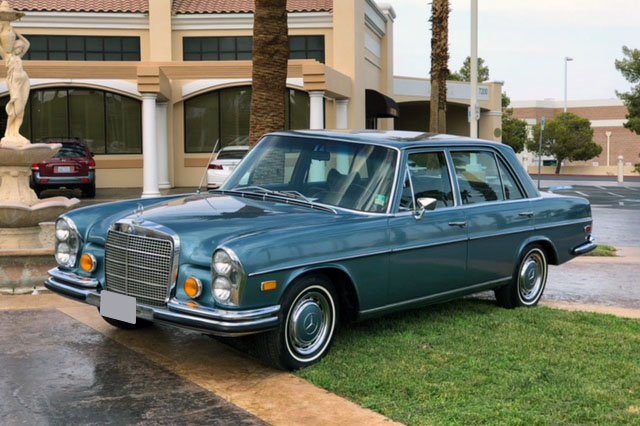 It's now or never – A Mercedes-Benz 280 SEL that belonged to Elvis Presley is for sale