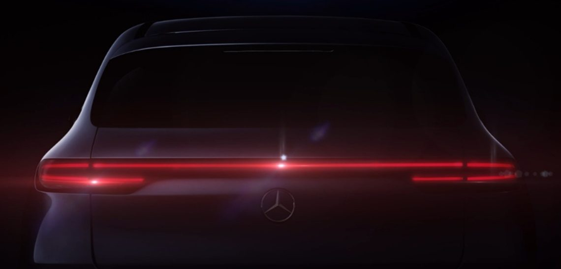 Mercedes-Benz EQC shows derriere in new teaser before September debut