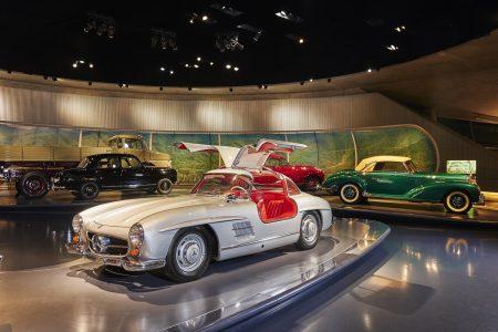 Mercedes-Benz Museum M4 - MercedeMercedes-Benz M4 - Mercedes-Benz 300 SL Coupe (1955)