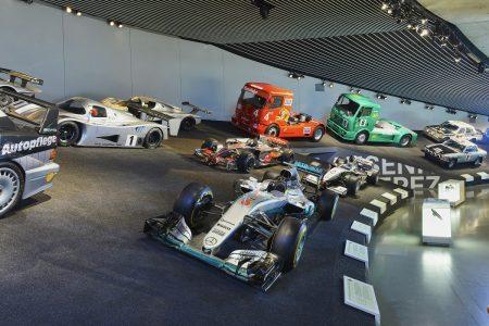 Mercedes-Benz Museum M7 - Mercedes F1 W07 Hybrid