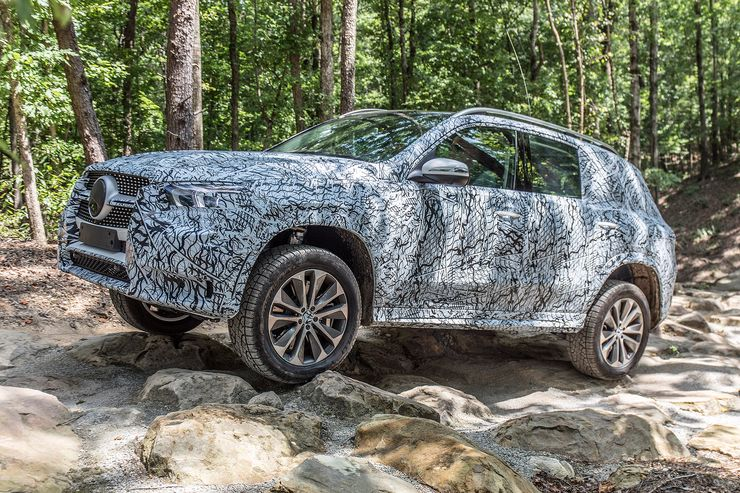Mercedes GLE 450 prototyp first drive 2019 (4)