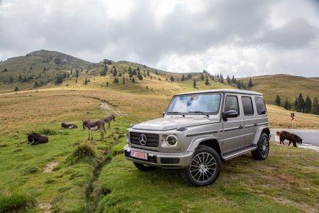 Test drive Mercedes-Benz G 500 (3)