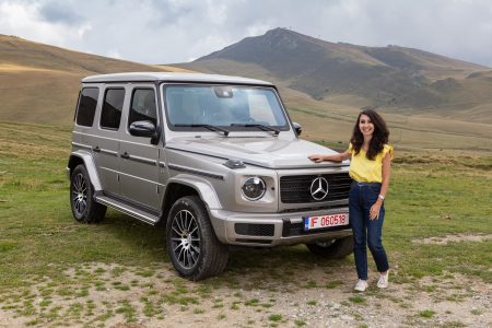 Test drive Mercedes-Benz G 500 (34)