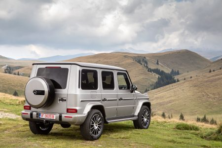 Test drive Mercedes-Benz G 500 (5)