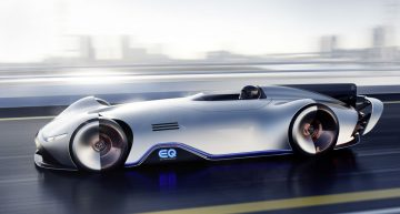 Official: Gorgeous Mercedes-Benz EQ Silver Arrow Concept debuts in Pebble Beach