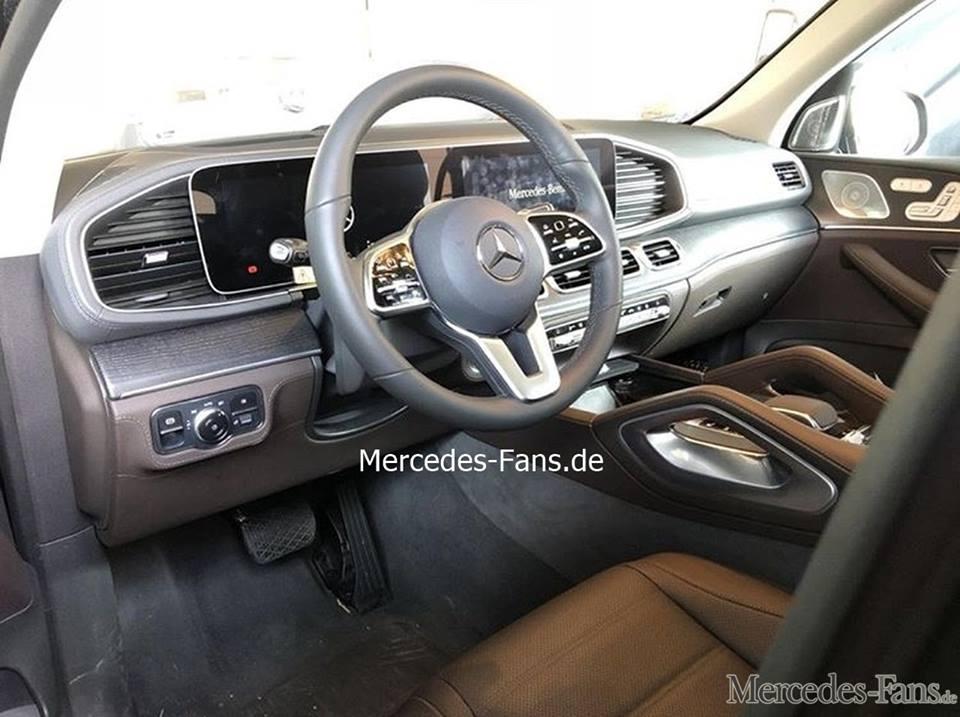 mercedes GLE interior 2019
