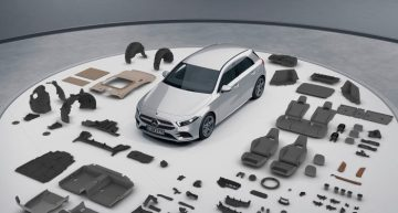 The new Mercedes-Benz A-Class successfully completes the TÜV validation
