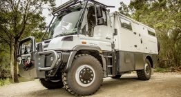 Luxury Mercedes at the end of the world: Unimog EarthCruiser Australia Explorer XPR440