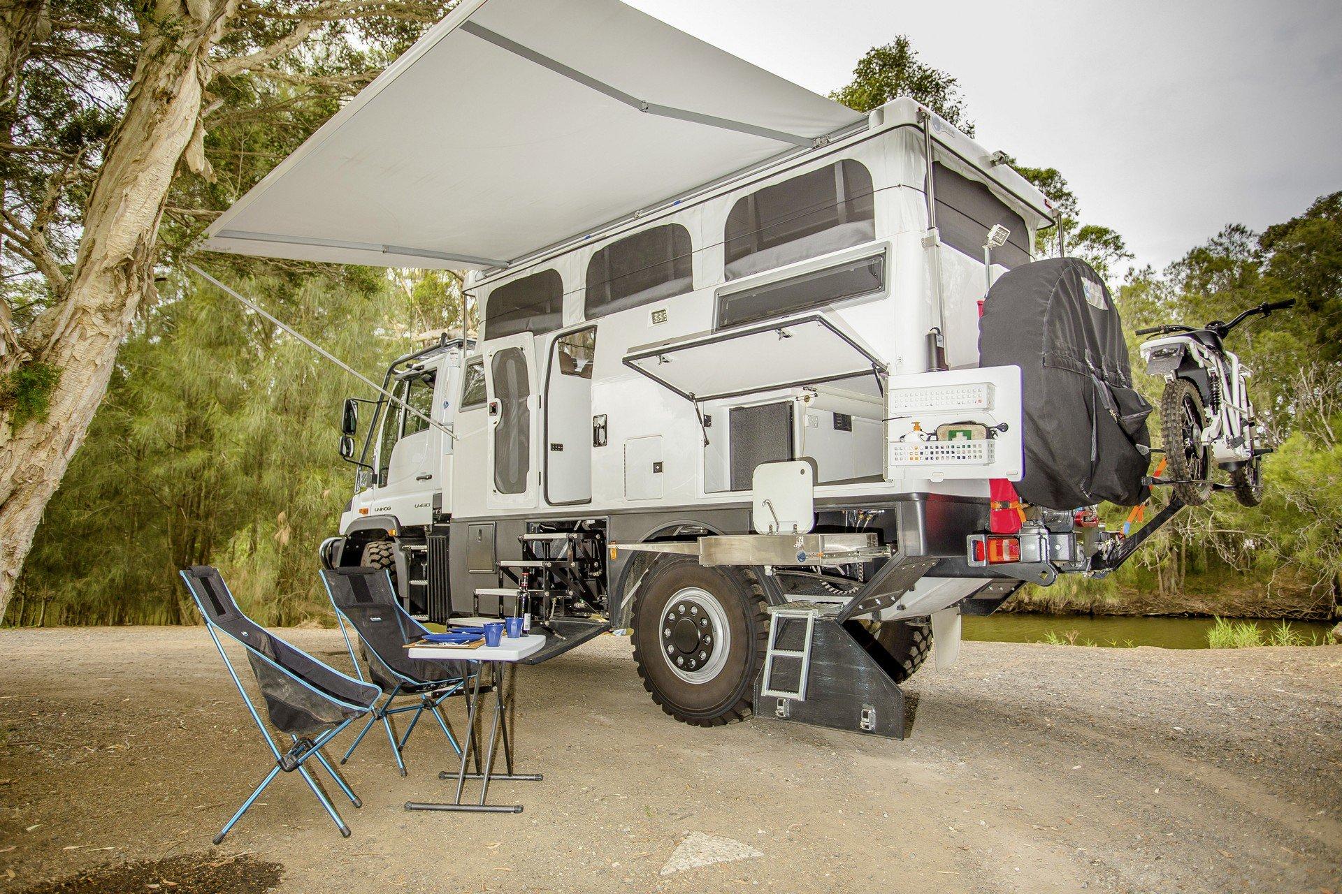 Unimog For Sale Usa >> Luxury Mercedes at the end of the world: Unimog EarthCruiser Australia Explorer XPR440 ...