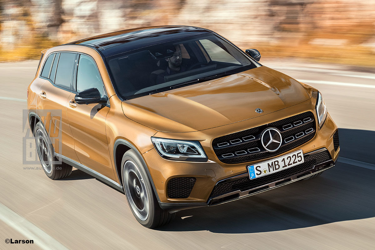 2015 Mercedes Suv >> 2019 Mercedes GLB: Latest info and spy pictures are here - MercedesBlog