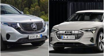 Electric SUV wars: 2019 Audi E-tron versus Mercedes-Benz EQ C