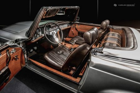 Mercedes 230 SL Pagoda By Carlex is timeless luxury (11)