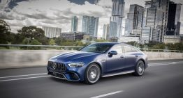 Mercedes-AMG GT 4-Door Coupe shown in new exciting photo gallery