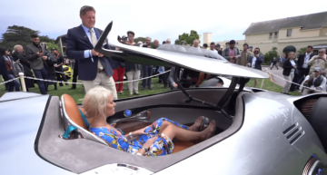 Supercar Blondie gets her hands on the Mercedes-Benz EQ Silver Arrow, the concept that no one is allowed to touch