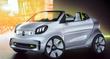Smart Forease concept: Modern Crossblade coming to Paris motor show
