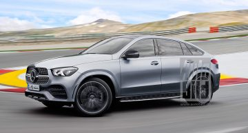 The future Mercedes GLE Coupe by Auto Bild