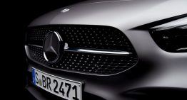 Future Mercedes-Benz B-Class teased ahead of Paris debut
