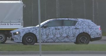 Arriving after all: New Mercedes-Benz CLA Shooting Brake caught on camera