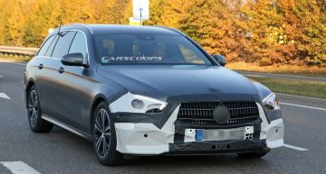 Mercedes E-Class gets ready for early facelift with a brand new face