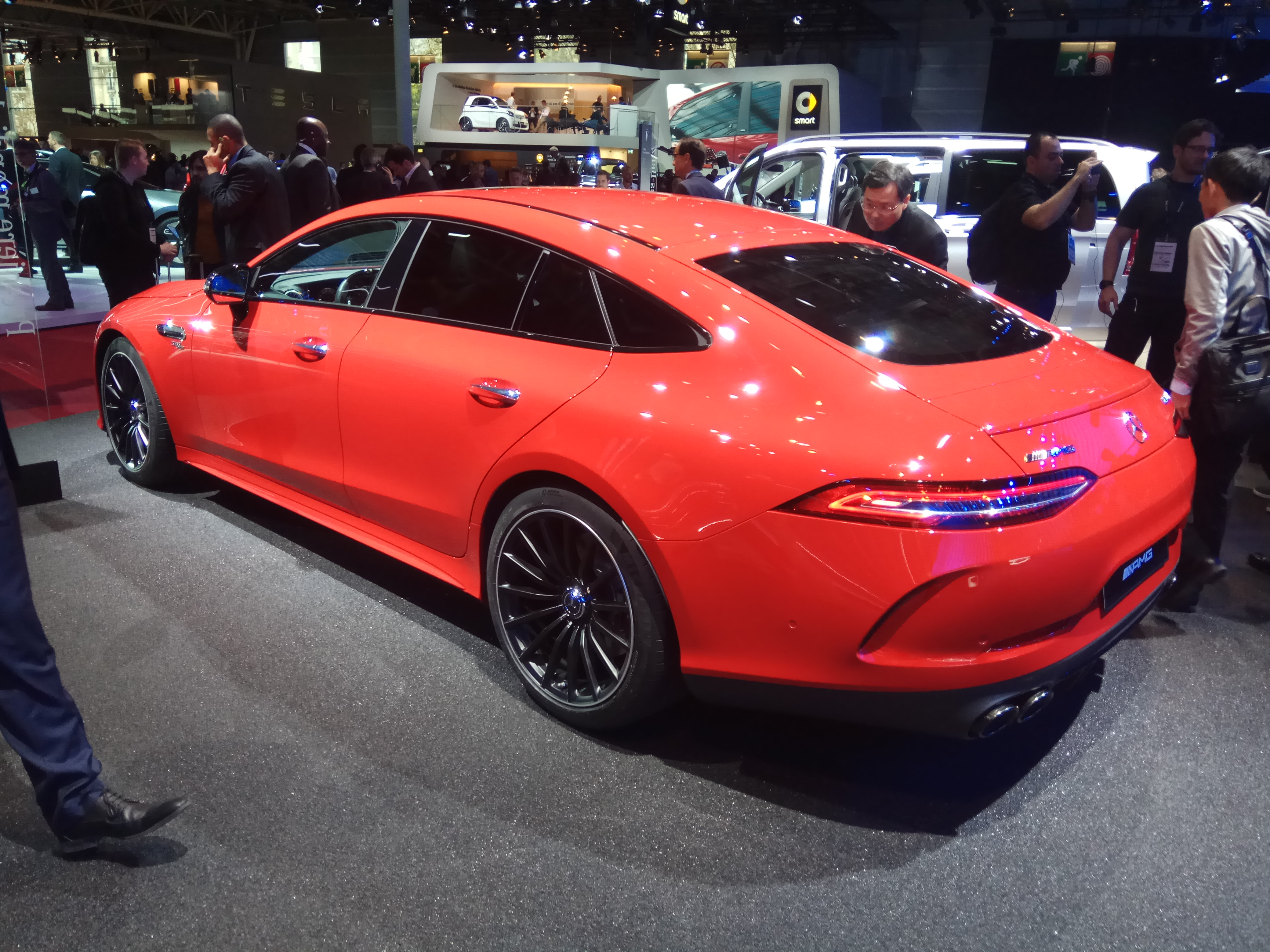 live from paris 2018 the new mercedes amg gt 4 door coupe. Black Bedroom Furniture Sets. Home Design Ideas
