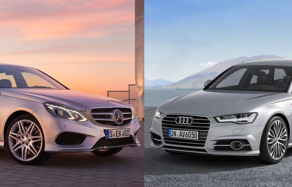 Paris facelift-battle: the Audi A6 responds to Mercedes-Benz E-Class