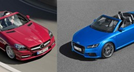 Is the new Audi TT Roadster the perfect contender for Mercedes-Benz SLK?