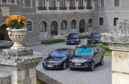 The Luxury Squadron: S 350 Bluetec vs A8, 740d, Range Rover