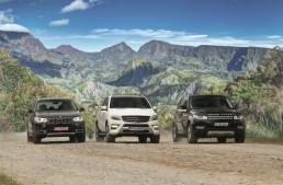Champions League: ML 350 BlueTec against BMW X5 and Range Rover Sport