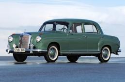 """Mercedes """"Ponton"""": a bridge to the future (1953 – 1962)"""