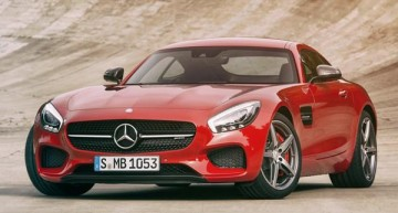 The Roaring AMG GT