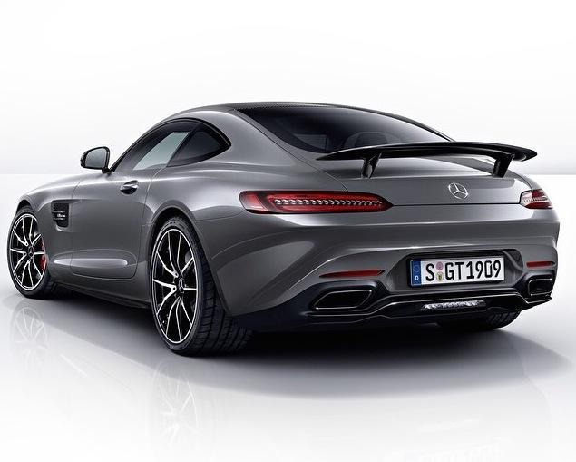 First glimpse: Mercedes-AMG GT Edition 1 prepared for 2014 Paris Motorshow