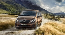 Good sales year for the new V-Class