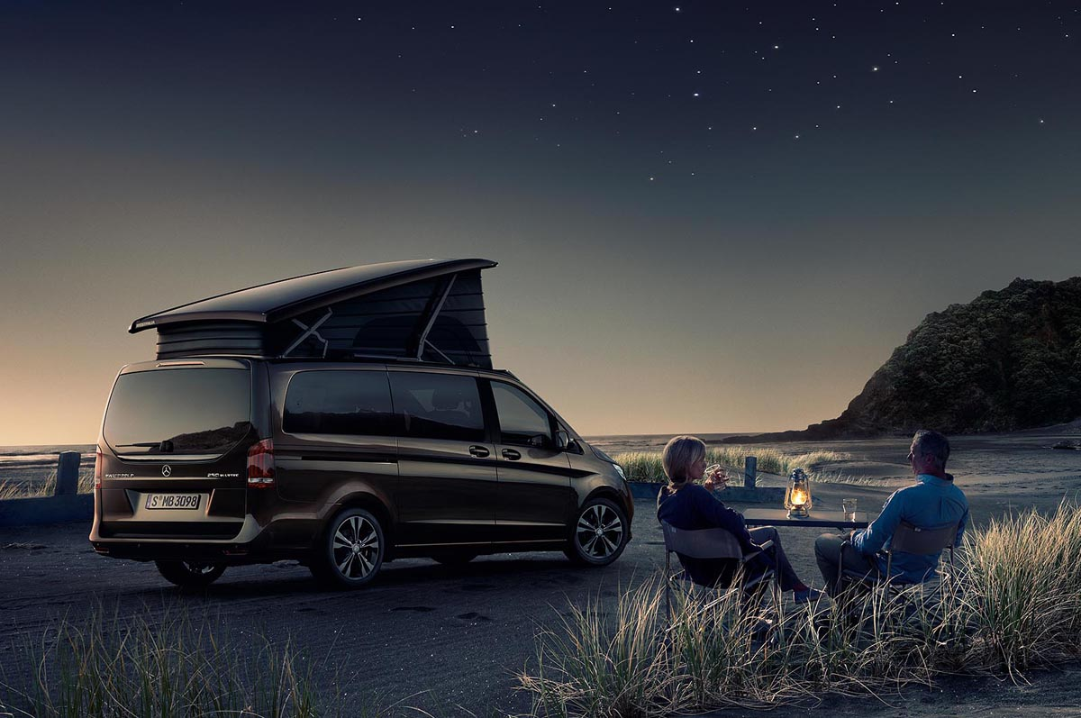 Camping In Portugal With The Mercedes Benz Marco Polo