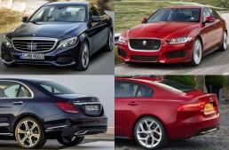 Jaguar XE competes against C-Class