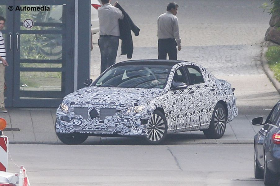 Exclusive: The First Pictures of the Future E-Class