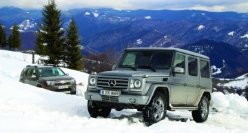 G-Class vs Dacia Duster: Following the King
