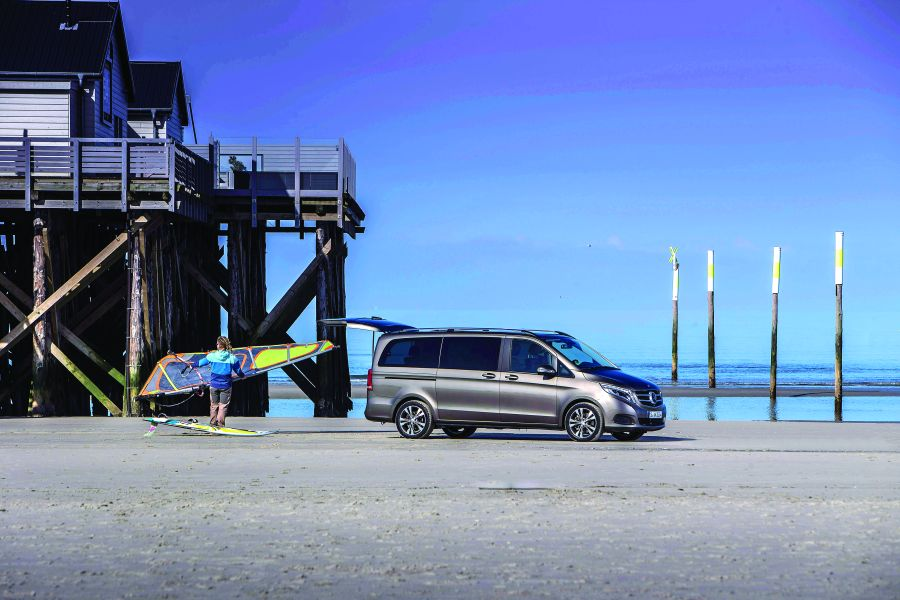 V-Class: the Mercedes of van segment