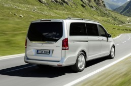 V-Class 4MATIC – the All-Wheel Drive adds more safety