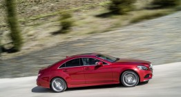 CLS facelift: A new entry level diesel and cutting edge technology