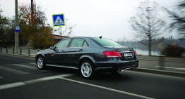 Test drive Mercedes E 300 Hybrid: Tradition and Innovation