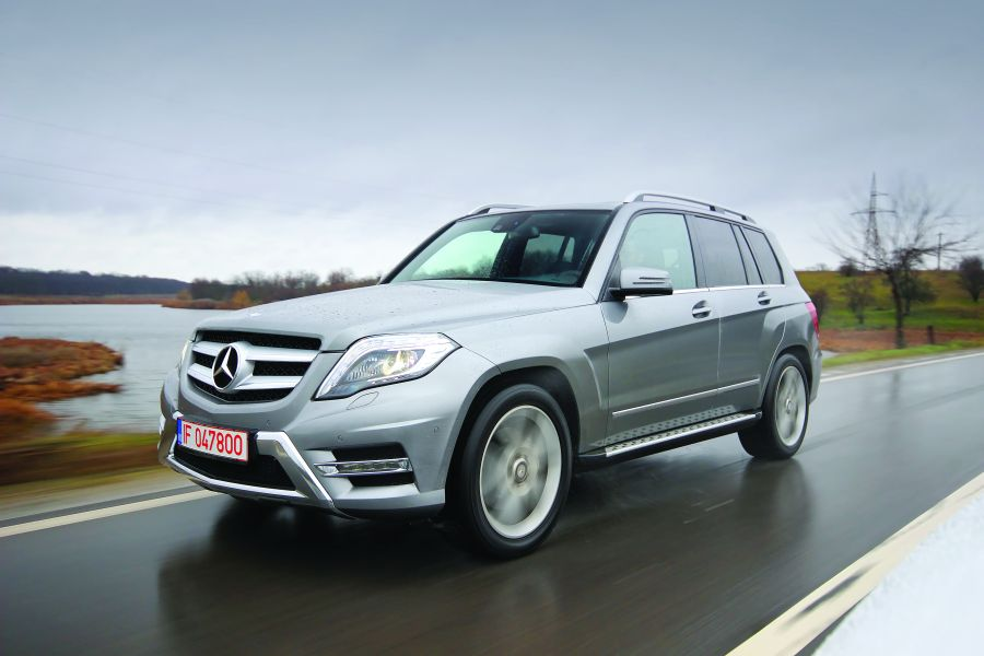 Test drive GLK 220 CDI 4Matic: Urban Design