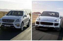 The New Porsche Cayenne puts pressure on the Mercedes ML
